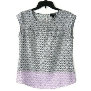 THE LIMITED See Through Sleeveless Top Blouse